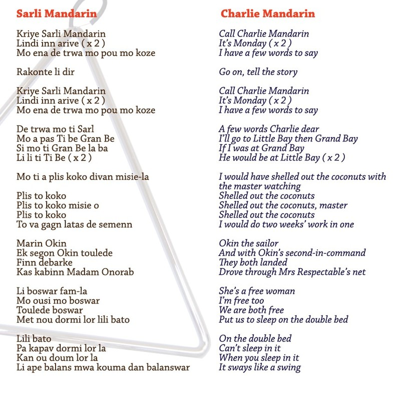Sarli Mandarin lyrics