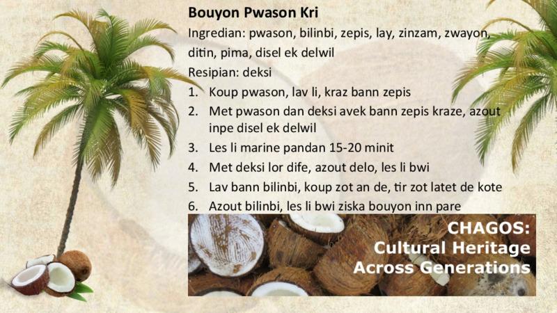 Bouyon Pwason Kri recipe