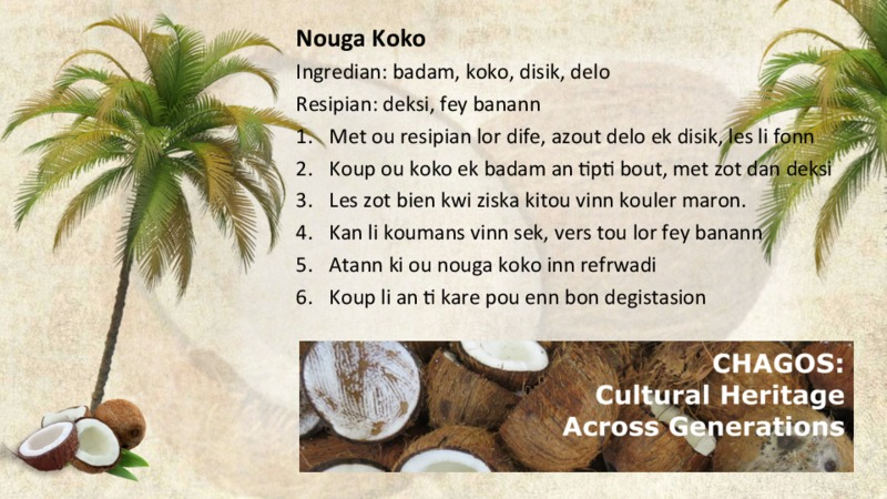Nouga Koko recipe