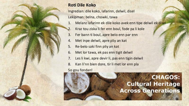 Roti Dile Koko recipe