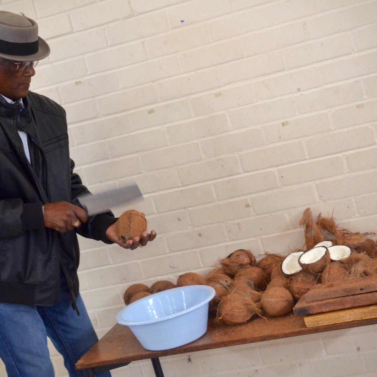 Coconut cracking lesson 1